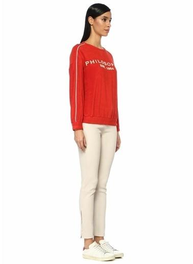 Philosophy Di Lorenzo Serafini Sweatshirt Kırmızı